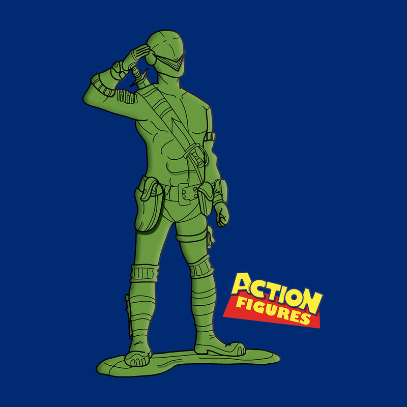 Action Heroes Snake Eyes Men's T-Shirt by TopNotchy - Cloud City 7