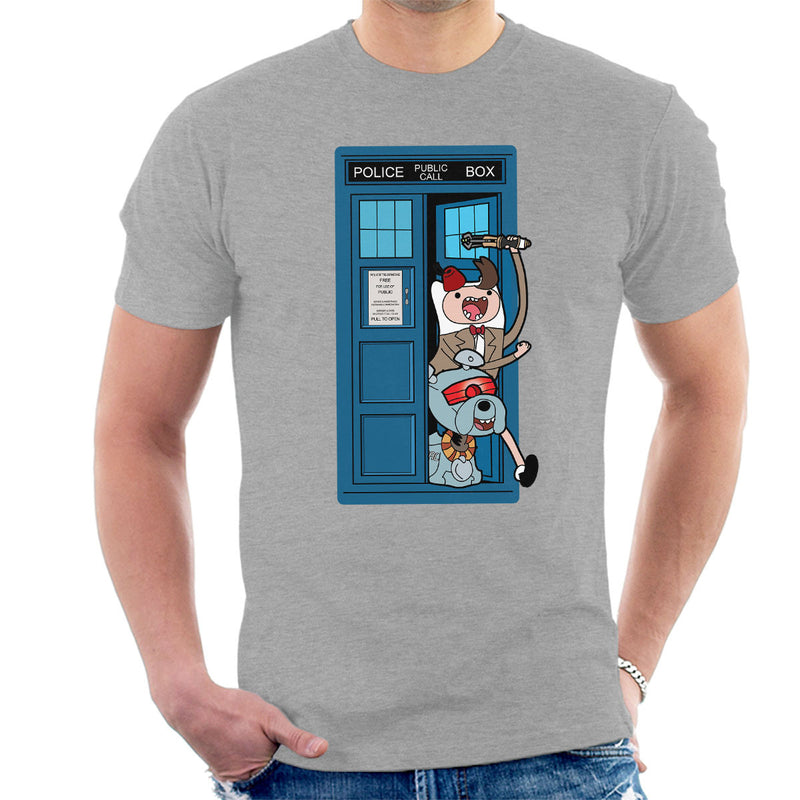 Adventure Time Dr Who Time Lord 11 Tardis by TopNotchy - Cloud City 7