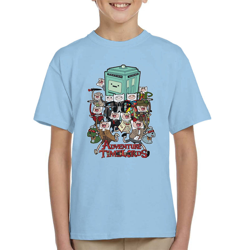 Adventure Time Dr Who Time Lords Kid's T-Shirt by TopNotchy - Cloud City 7