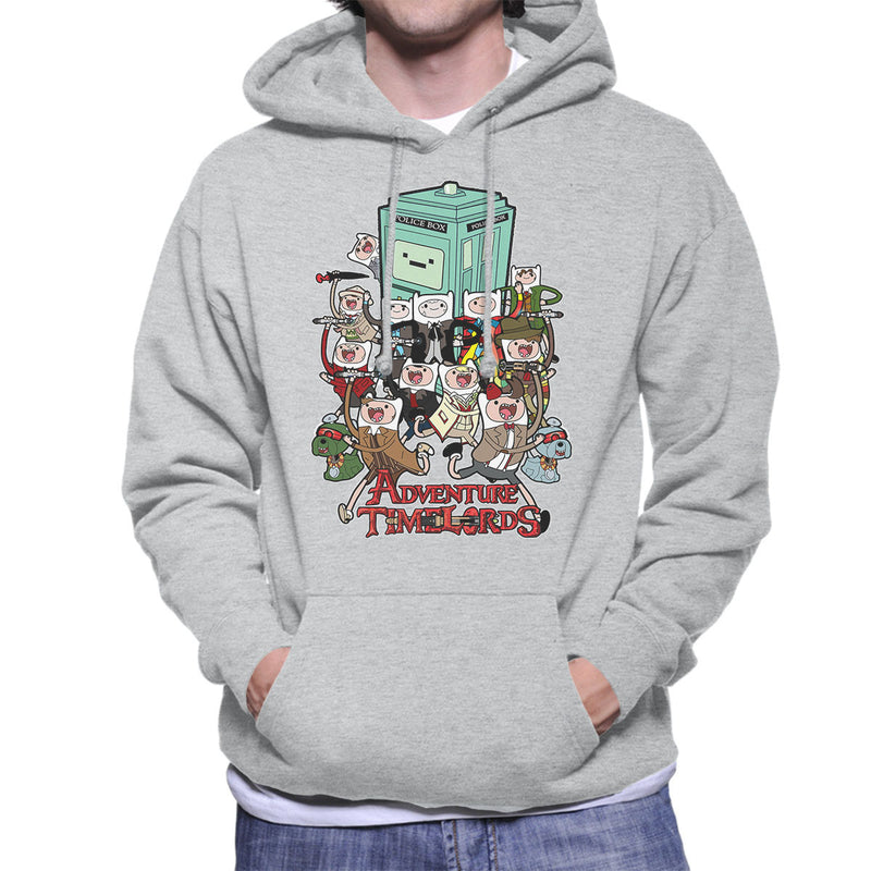Adventure Time Dr Who Time Lords Men's Hooded Sweatshirt by TopNotchy - Cloud City 7