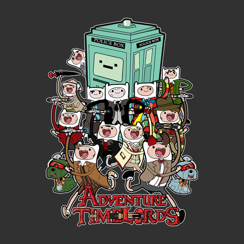 Adventure Time Dr Who Time Lords by TopNotchy - Cloud City 7