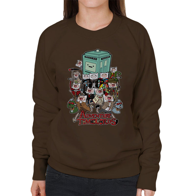 Adventure Time Dr Who Time Lords Women's Sweatshirt by TopNotchy - Cloud City 7