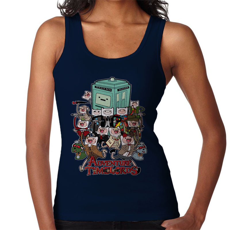 Adventure Time Dr Who Time Lords Women's Vest by TopNotchy - Cloud City 7