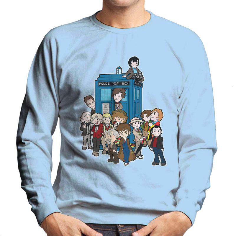 Adventure Time Dr Who Bigger On The Inside Men's Sweatshirt by TopNotchy - Cloud City 7
