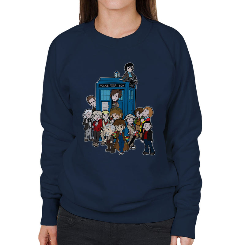 Adventure Time Dr Who Bigger On The Inside Women's Sweatshirt by TopNotchy - Cloud City 7