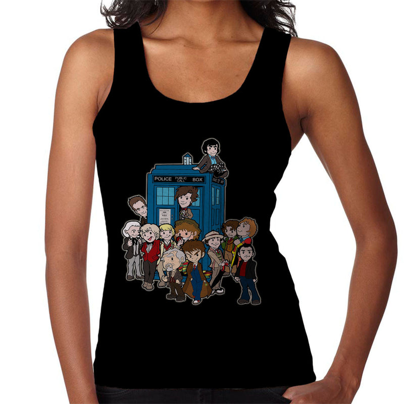Adventure Time Dr Who Bigger On The Inside Women's Vest by TopNotchy - Cloud City 7