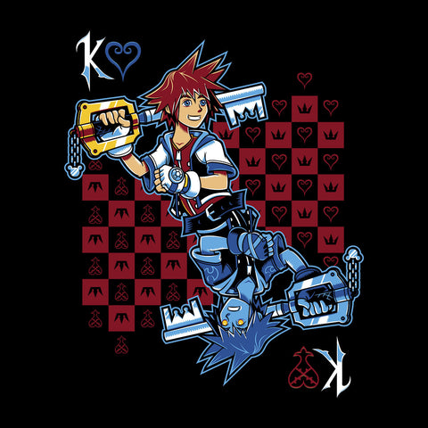 Kingdom Hearts Sora and Anti Sora