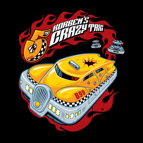 Korbens Crazy Taxi Fifth Element