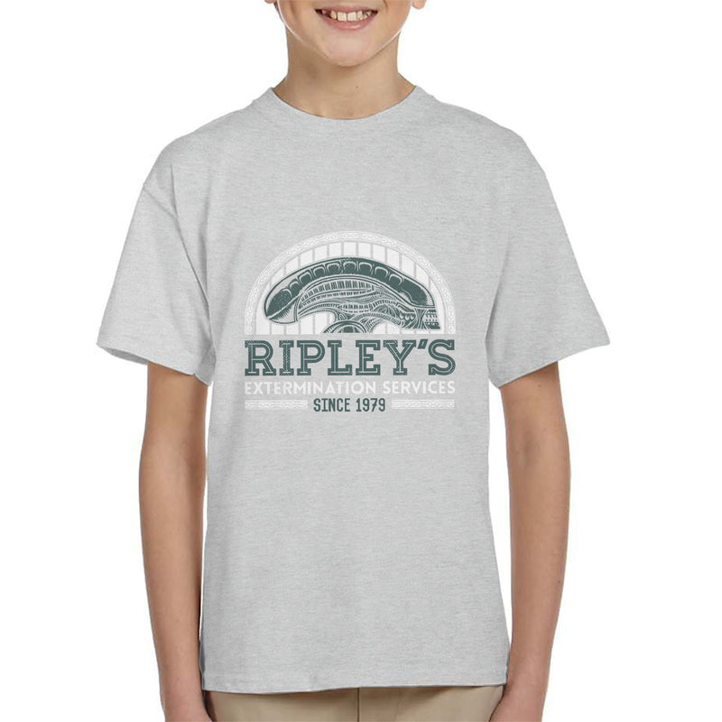 Alien Ripleys Extermination Services Kid's T-Shirt by Nemons - Cloud City 7