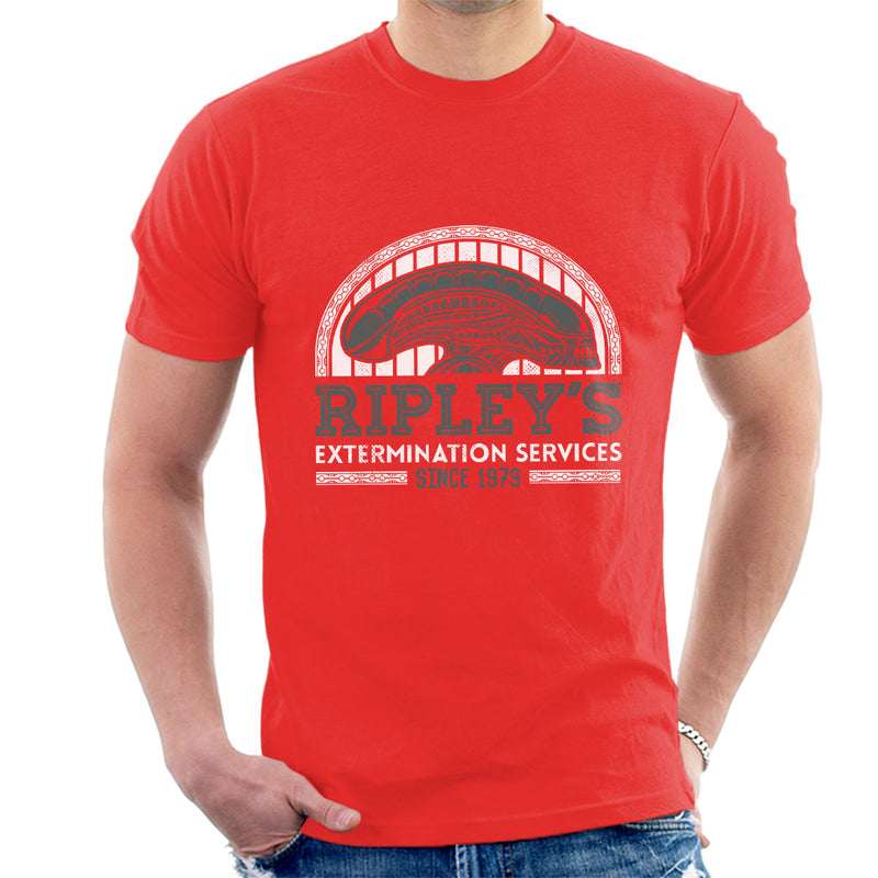 Alien Ripleys Extermination Services Men's T-Shirt by Nemons - Cloud City 7