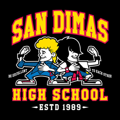 Bill And Teds Excellent Adventure San Dimus