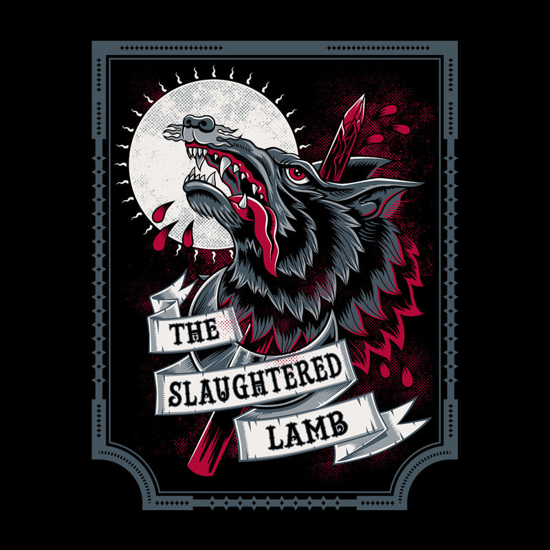 An American Werewolf In London Slaughtered Lamb Women's Vest by Nemons - Cloud City 7
