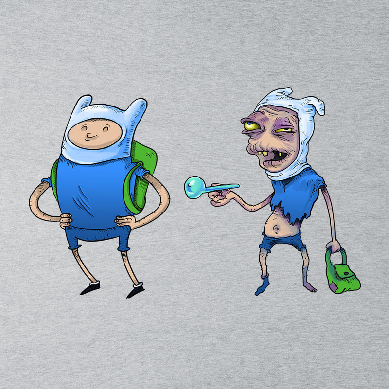 Adventure Time Finn The Human On Drugs