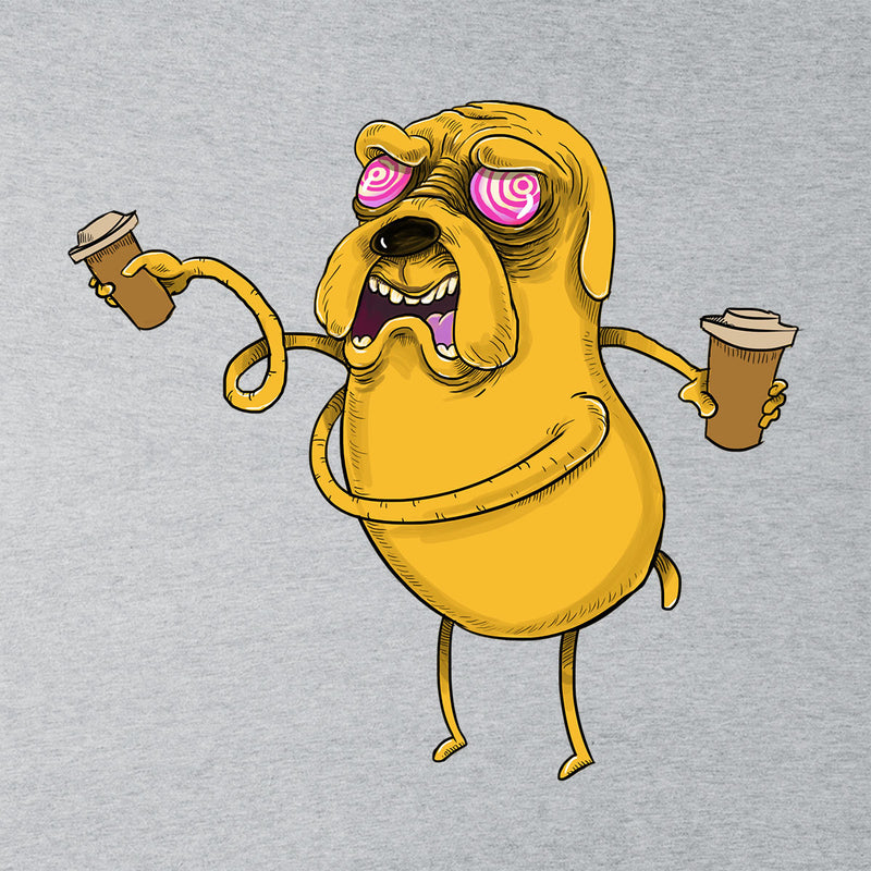 Adventure Time Jake The Dog Before Coffee Women's T-Shirt by Samuel Milham - Cloud City 7