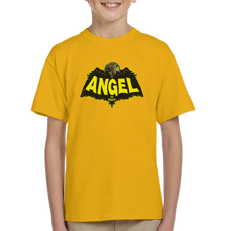 Angel Of Death Hellboy Kid's T-Shirt by AndreusD - Cloud City 7