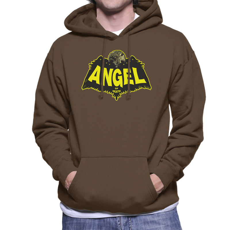 Angel Of Death Hellboy Men's Hooded Sweatshirt by AndreusD - Cloud City 7