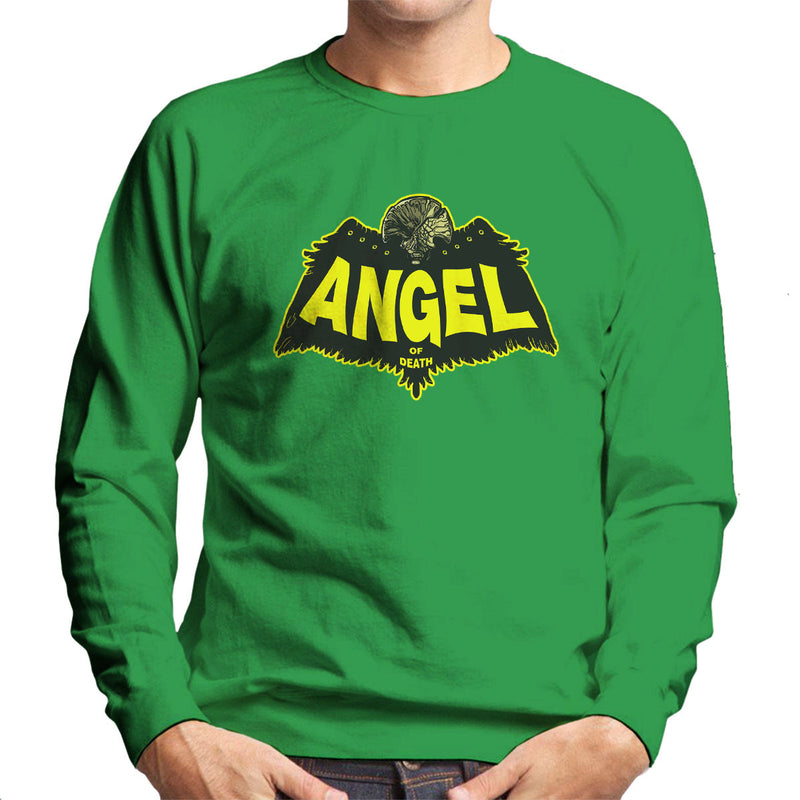 Angel Of Death Hellboy Men's Sweatshirt by AndreusD - Cloud City 7