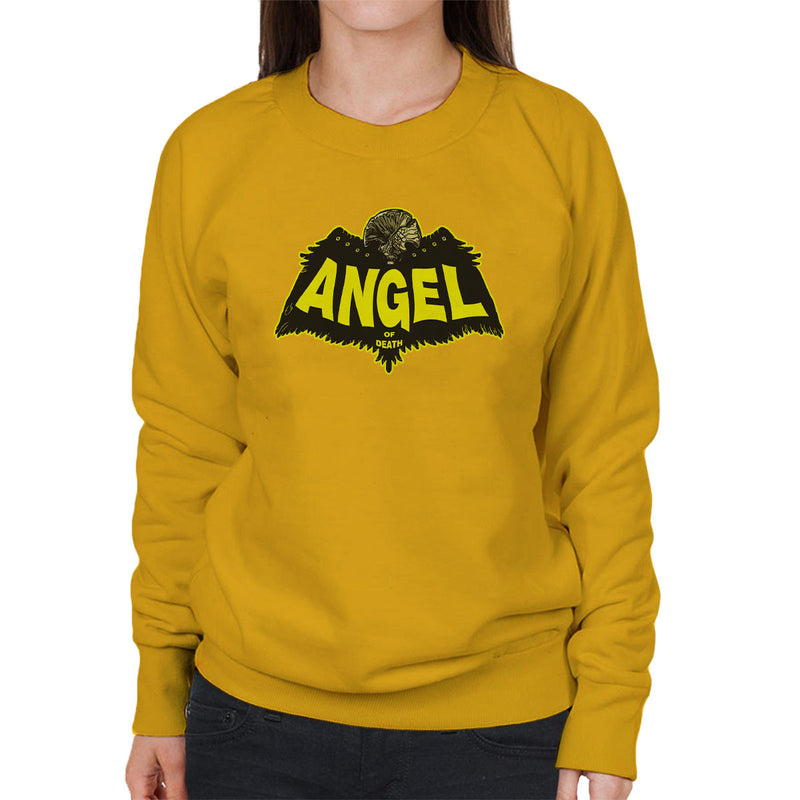 Angel Of Death Hellboy Women's Sweatshirt by AndreusD - Cloud City 7