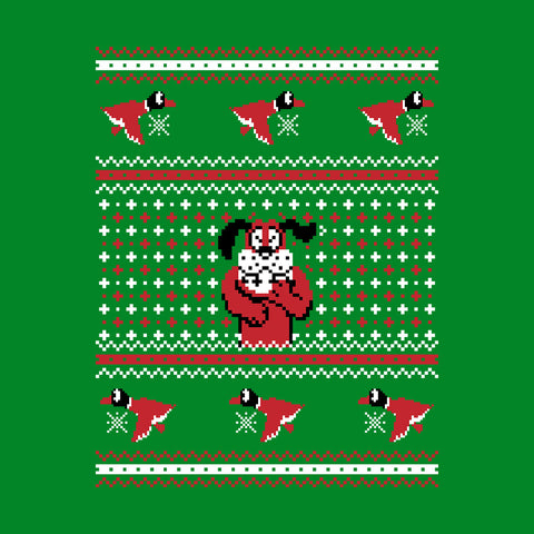 Festive Duck Hunt Christmas Knit Pattern