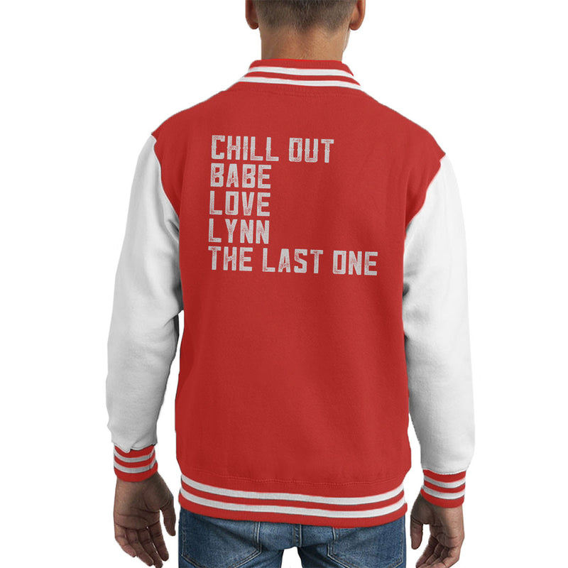 Alan Partridge Chill Out Babe Kid's Varsity Jacket by Nova5 - Cloud City 7