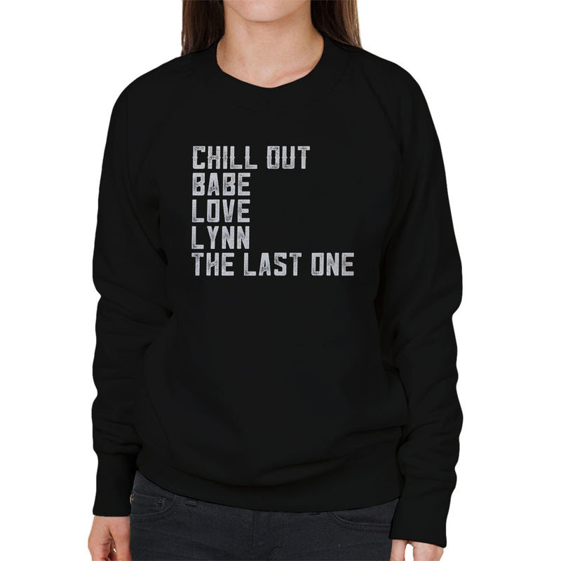 Alan Partridge Chill Out Babe Women's Sweatshirt by Nova5 - Cloud City 7