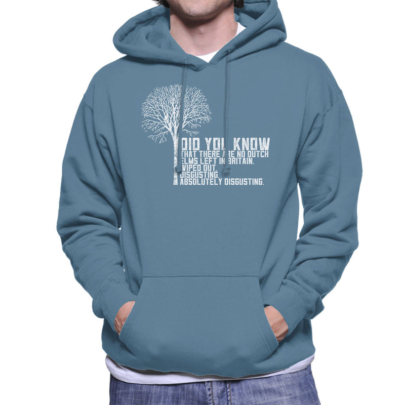 Alan Partridge Dutch Elm Did You Know Quote Men's Hooded Sweatshirt by Nova5 - Cloud City 7