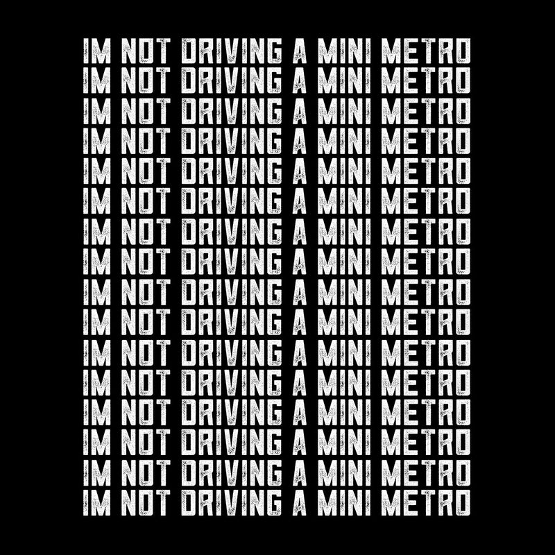 Alan Partridge Im Not Driving A Mini Metro Kid's T-Shirt by Nova5 - Cloud City 7
