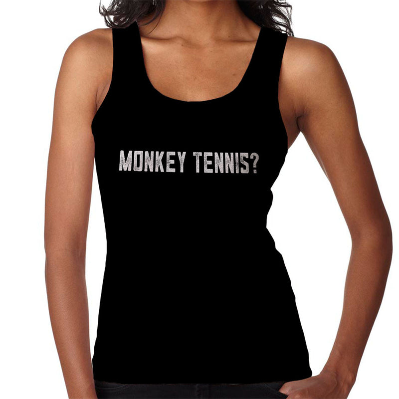 Alan Partridge Monkey Tennis Women's Vest by Nova5 - Cloud City 7