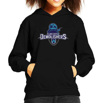 Clash Of Clans Demolishers Kid's Hooded Sweatshirt by Chesterika - Cloud City 7