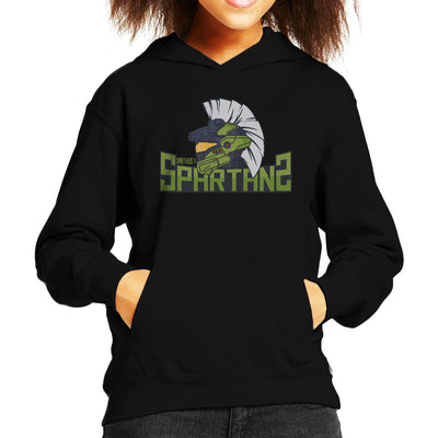Draetheus 5 Spartans Halo Kid's Hooded Sweatshirt by Chesterika - Cloud City 7