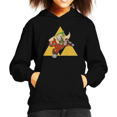 My Little Link Legend of Zelda Equestrian Girls Kid's Hooded Sweatshirt by Chesterika - Cloud City 7