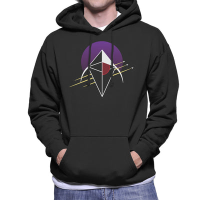 No Man's Sky Crest Men's Hooded Sweatshirt by Chesterika - Cloud City 7