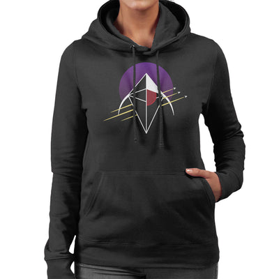No Man's Sky Crest Women's Hooded Sweatshirt by Chesterika - Cloud City 7