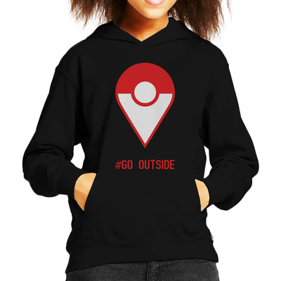 Pokemon Go Outside Kid's Hooded Sweatshirt by Chesterika - Cloud City 7