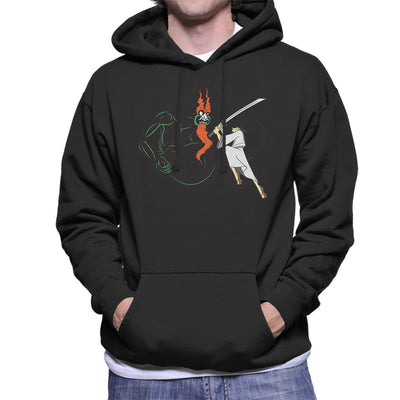 Slay Your Dragon Samurai Jack Men's Hooded Sweatshirt by Chesterika - Cloud City 7