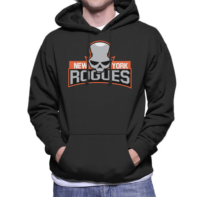 New York Rogues Men's Hooded Sweatshirt by Chesterika - Cloud City 7