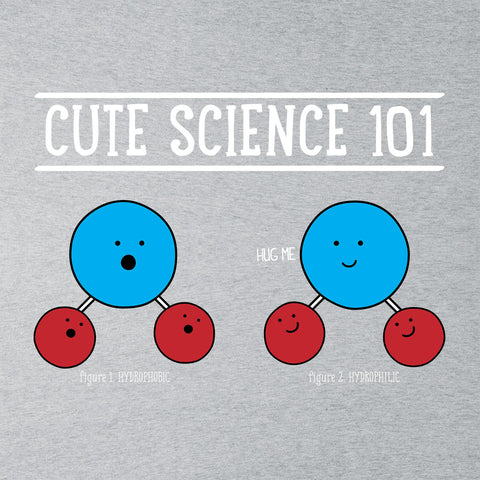 Cute Science Hydrophobic And Hydrophillic