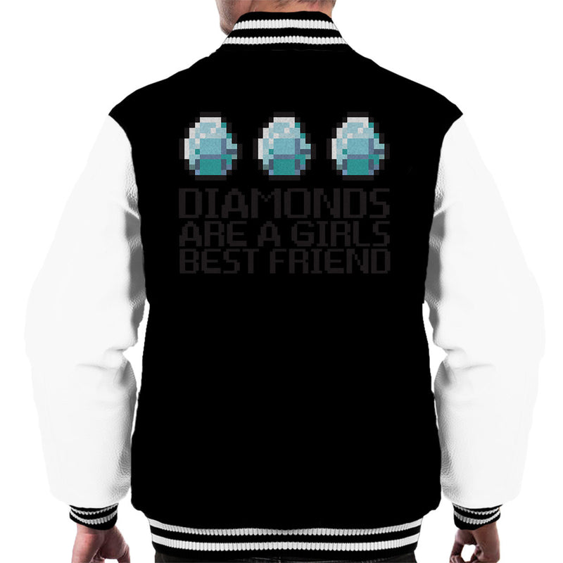Diamonds Are A Girls Best Friend Mens Varsity Jacket Cloud City 7