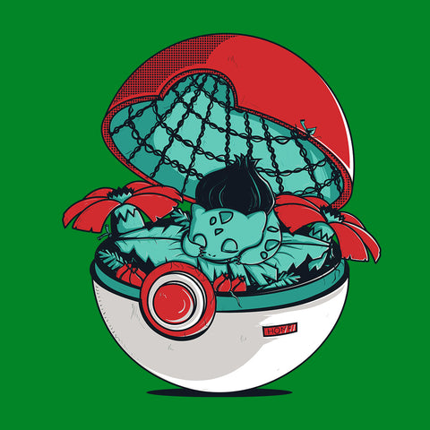 Green Pokehouse Bulbasaur Pokemon