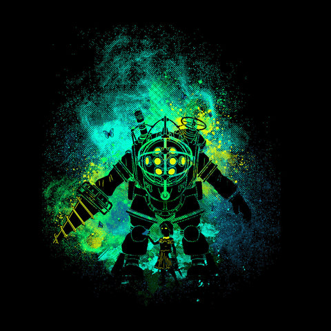 Rapture Art Big Daddy Little Sister Bioshock