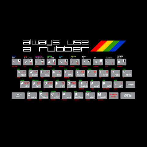 Always Use A Rubber Spectrum ZX