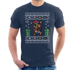 Christmas Super Mario Pixel Knit