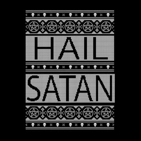 Hail Satan Christmas Knit