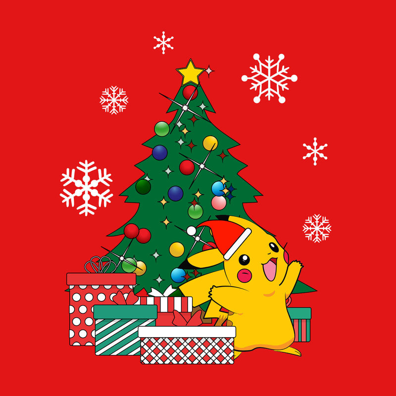 Pokemon Christmas.Pikachu Pokemon Christmas Tree Women S Sweatshirt
