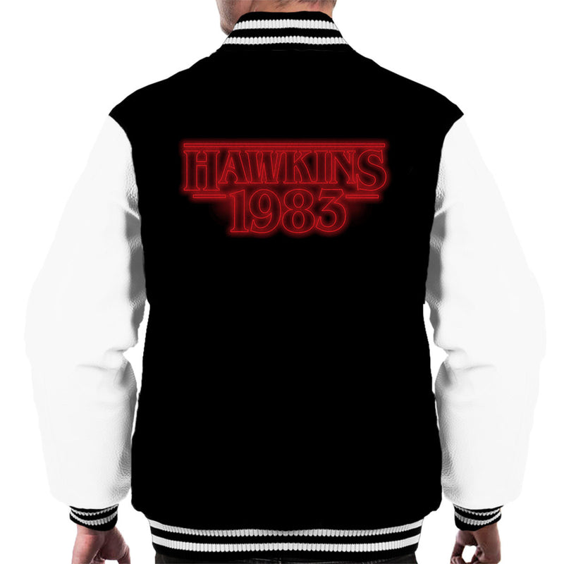 Hawkins 1983 Stranger Things Men's Varsity Jacket