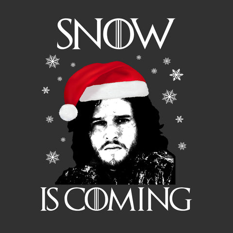 Snow Is Coming Jon Snow Christmas Game Of Thrones