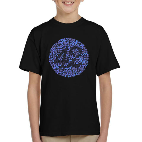42 Blind Test The Hitchhikers Guide To The Galaxy Kid's T-Shirt
