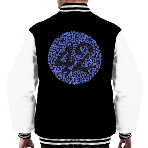 42 Blind Test The Hitchhikers Guide To The Galaxy Men's Varsity Jacket