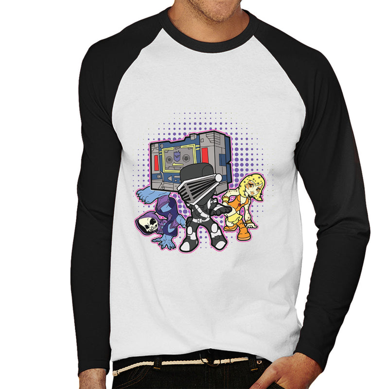 a94ed2cc 80s Cartoon B Boys And Girl Men's Baseball Long Sleeved T-Shirt ...