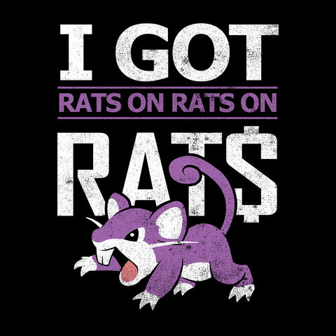 I Got Rats On Rats On Rats Rattata Pokemon White